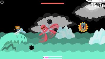 Screenshot of Robo Surf Free