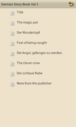 Learn German by Story Book V1