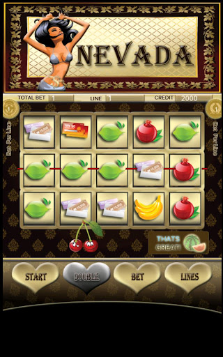 Nevada Slot Machine Screen Capture 1