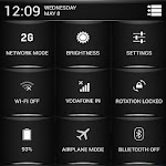 CM11/10.2/PA White Fire Theme v1.43