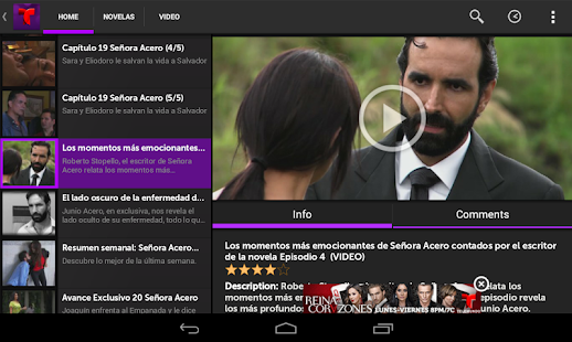 Telemundo Novelas - screenshot thumbnail