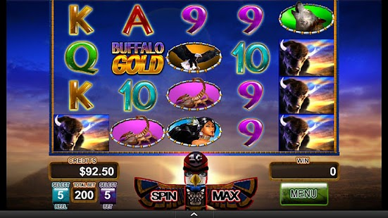 Buffalo Gold Video Slot Game