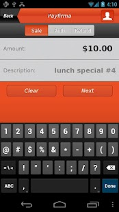 Payfirma Mobile Payments - screenshot thumbnail