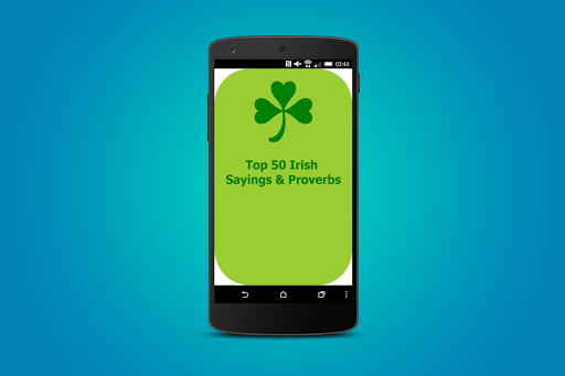 Irish Sayings Proverbs