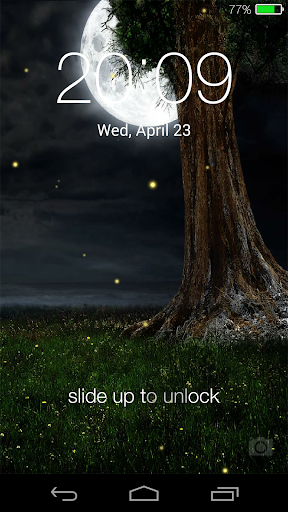 Fireflies lockscreen for PC