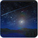 Meteors star firefly Wallpaper mobile app icon