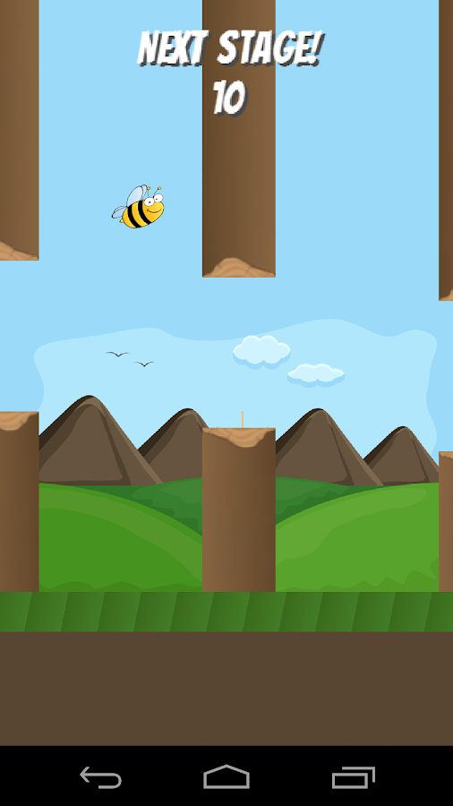 The Flappy Bee- screenshot
