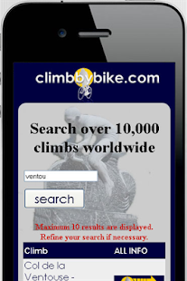 climbbybike- screenshot thumbnail