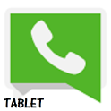 Descargar whatsapp para tablet icon