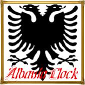 Albania Analog Clock