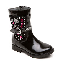 Lelli Kelly Embellished Patent Boot BOOT