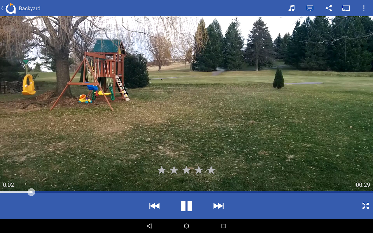 Avia Media Player (Chromecast)- screenshot