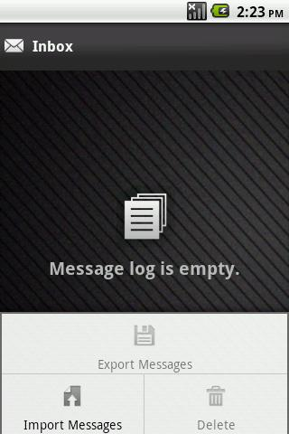 Hide SMS - screenshot