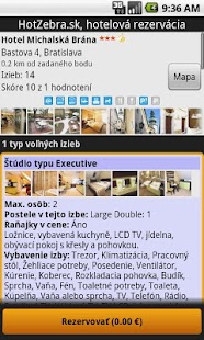 Hotel booking - HotZebra- screenshot thumbnail
