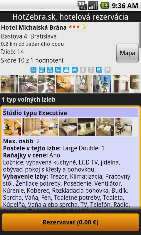Hotel booking - HotZebra- screenshot