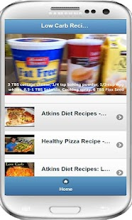 Low Carb Recipes Video - screenshot thumbnail