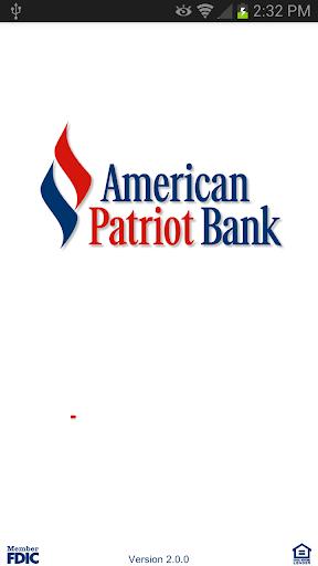American Patriot Bank Mobile