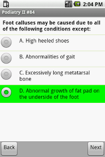 NBPME Podiatry II Exam Prep- screenshot thumbnail