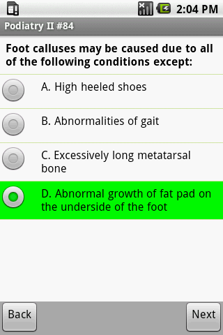 NBPME Podiatry II Exam Prep- screenshot