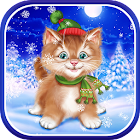 Winter Cat Live Wallpaper icon
