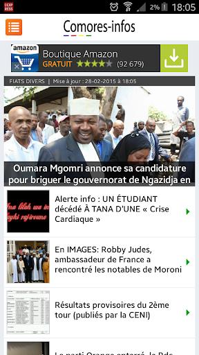 Comores Infos