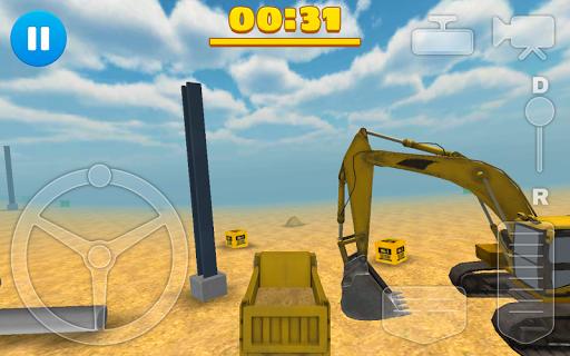 Construction Game Truck 3D Sim