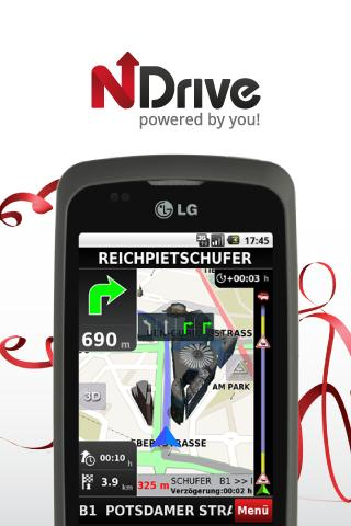 NDrive DACH - screenshot