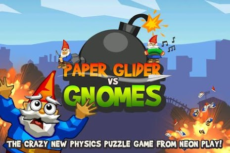 Paper Glider vs. Gnomes- screenshot thumbnail