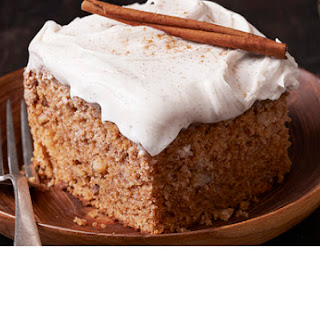 Old Fashioned Applesauce Spice Cake.