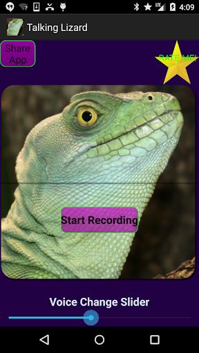 Talking Lizard Voice Changer