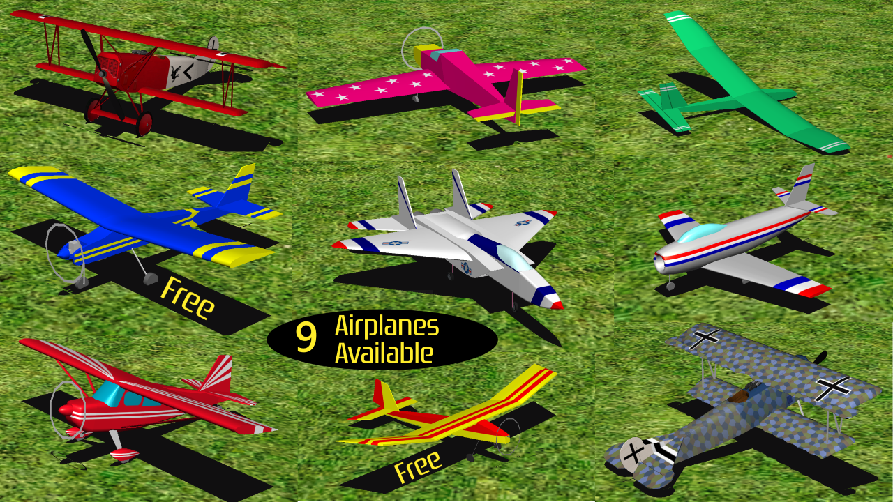 RC-AirSim - RC Model Plane Sim- screenshot