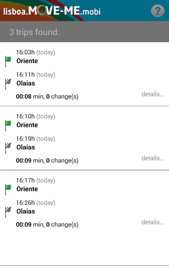 Lisboa MOVE-ME - screenshot