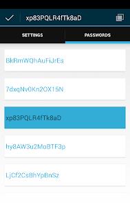 Password Generator - screenshot thumbnail