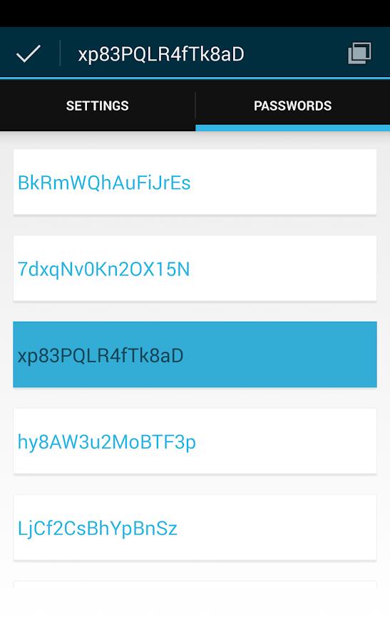 Password Generator - screenshot