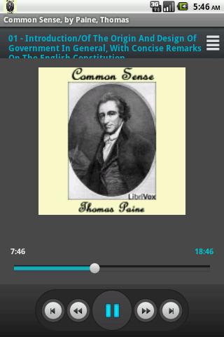 Common Sense Paine Librivox