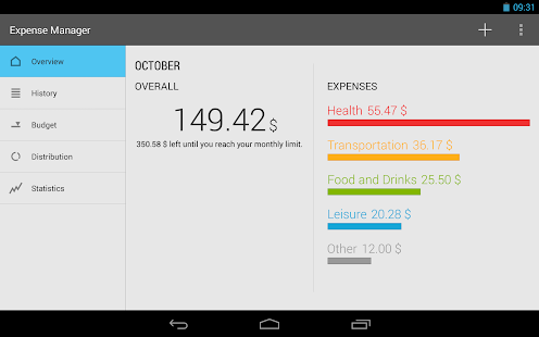 Expense Manager Screenshot 9