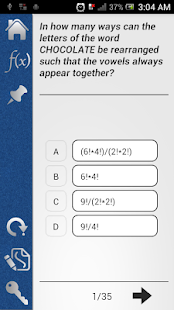 Pocket GMAT Math- screenshot thumbnail