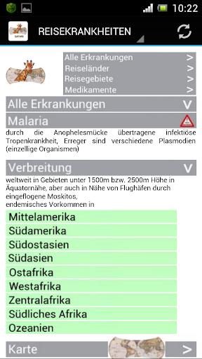 免費醫療App|Reisekrankheiten-Safari|阿達玩APP