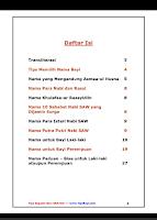 Screenshot of Nama Bayi Islam dan Artinya