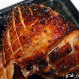 Ginger Ale - Glazed Ham.