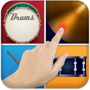 Virtual Drum Set Icon