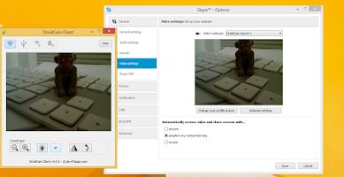 Screenshot of DroidCamX Wireless Webcam Pro