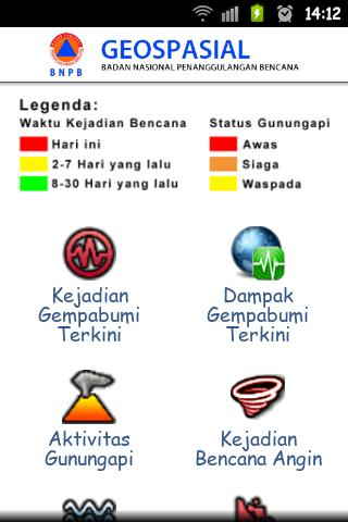 Pantauan Bencana Indonesia- screenshot