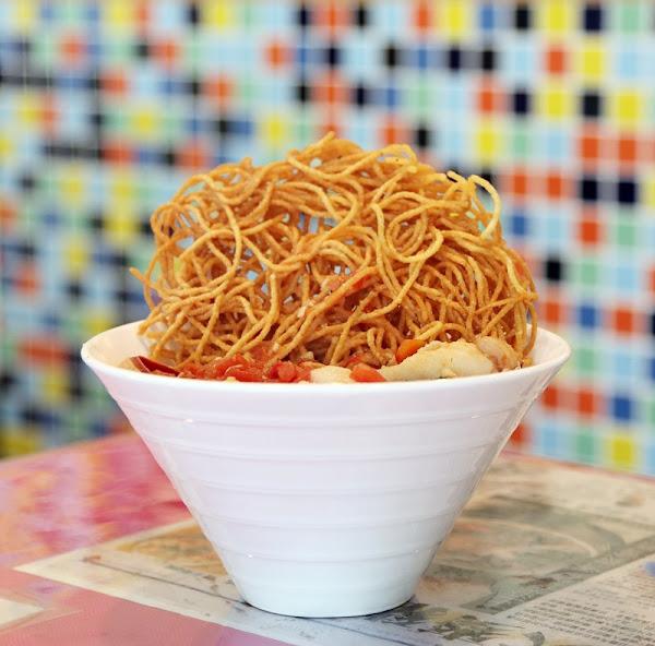 杯子田 海鮮辣味湯麵也太讚了吧!