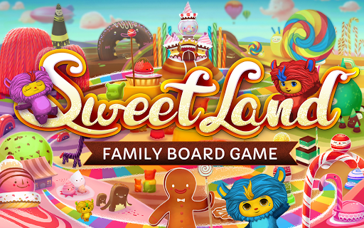 SweetLand — Family Board Game