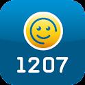 1207 Mobiel logo