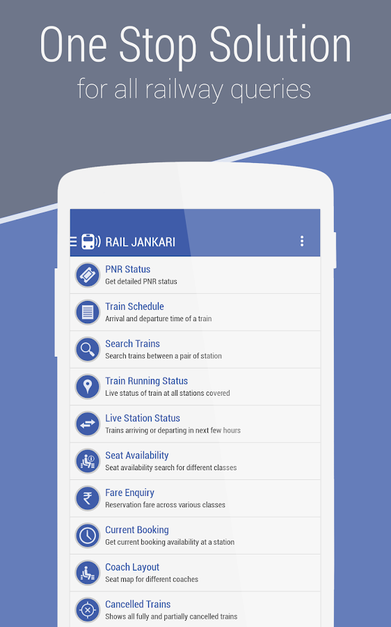 Rail Jankari - Indian Railways- screenshot