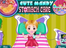 Screenshot of Cute mandy stomach care
