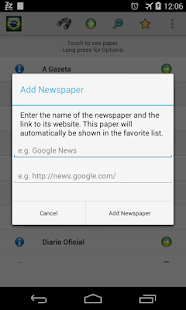 All Newspapers of Brazil-Free - screenshot thumbnail
