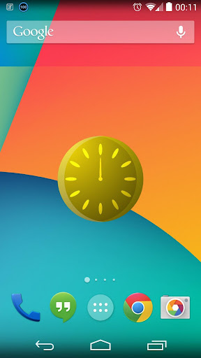MoveTime Clock Widget